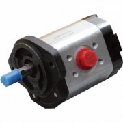 NorTrac Bi-Directional Gear Pump - 6 GPM, 5/8 Inch Diameter Shaft, Model CB2A-F7SXA, Port