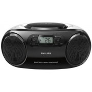 Micro Sistem Philips AZ330T, CD/MP3 Player, Bluetooth (Alb/Negru)