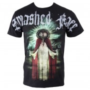 tricou stil metal bărbați Smashed Face - Misanthropocentric - NNM - Black - 05