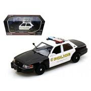 2010 Ford Crown Victoria San Gabriel Police Car 1/24 Model Car by Motormax