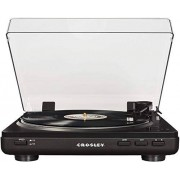 Crosley T400 Fully Automatic 2-Speed Component Turntable with Built-in Preamp, Black