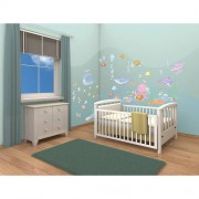 Kit Decor Walltastic Baby Under the Sea