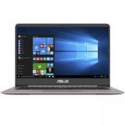 Лаптоп Asus UX410UQ-GV109T, 14 инча, Intel Core i7-7500U, 8192MB DDR4 2133MHz, 256GB SSD SATA3, 90NB0DK1-M02310