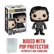 GTO Funko POP TV: Game of Thrones - Jon Snow Training Ground Figure Bundled with Protector