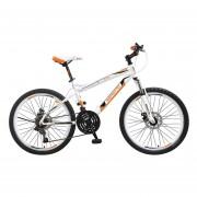 Bicicleta Benotto Ignition FS MTB Acero R24 21V Hombre Fnos DD Bco UN