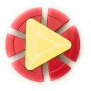 GoodsBazaar Superhero Hand Spinner Shield Fidget Toy Games Anti Stress Kids Gift
