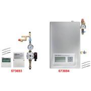 Statie Automatizare Panouri Solare Presurizate, Apa Calda si Incalzire SR961S, EvoSanitary, 673694, 420 x 280 x 155 mm
