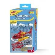 Joustra - 40030 - Jeu De Construction - Hélicoptère Sécurité Civile