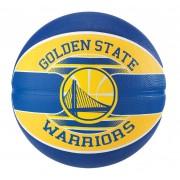 Bola Golden State Warriors Basquete Spalding NBA (Compre e Ganhe 1 Boné Spalding) - Tam. 7