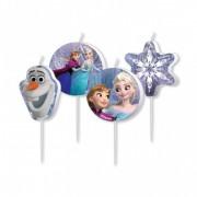 Set 4 lumanari Frozen