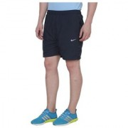 Nike Black Polyester Lycra Running Shorts