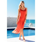 Capture Swimwear Maxi Dress - Mandarin - Womens