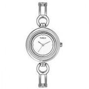 Timex Quartz White Round Women Watch TWEL11400