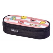 NECESSAIRE OVAL SMILEYWORLD GIRLY