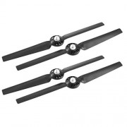 Cecileie 2 Pairs 13 Inch ABS Spare Parts Quick Release Replacement Blade Props Propellers for YUNEEC Typhoon Q500 Drone RC Accessories