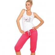 Pijama dama pantaloni scurti KEY LNS 566