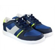 Density Ben Running Shoes For Men(Navy, Green)