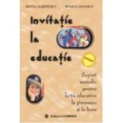 Invitatie la educatie - Silvia Marinescu Rodica Dinescu
