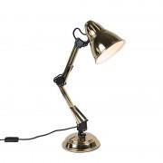 QAZQA Tafellamp Buzz messing