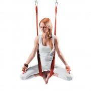 inSPORTline Hamac aero yoga Hemmock rosu