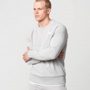 Myprotein Klassischer Pullover mit Rundhalsausschnitt - XXL - Grey Marl