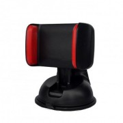 Callmate Mobile Phone For Car Silicone Sucker Multi Surface Universal Car Mount - Red
