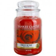 Yankee Candle True Rose scented candle Classic Large 623 g