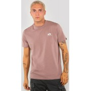 Alpha Industries Basic T Small Logo T-Shirt Rosa L