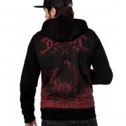 Muška majica s kapuljačom - CRIME GRIS - HYRAW - FW19-M26