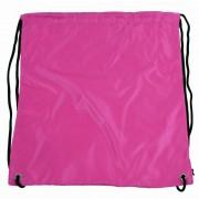 Pytlík do tělocviku / na cvičky jednobarevný stahovatelný růžový 3H02