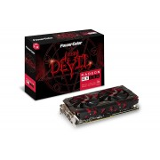 Grafička kartica AMD Radeon RX580 Powercolor Red Devil 8GB DDR5, AXRX580 8GBD5-3DH/OC/256bit