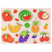 """Дървен пъзел """"Плодове"""" EmonaMall - Код W3399"""