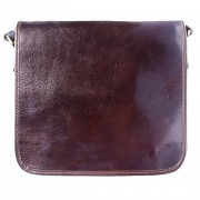 Florence Leather Market Borsa-Messenger Christopher in vera pelle lucida (6551)