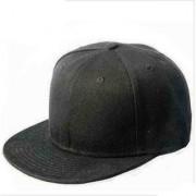Techamazon Black caps for Men / Hiphop cap /Snapback cap//hip hop hat-1qty