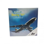 Schabak Boeing 747-200 Diecast 1:250 Scale Accurately Detailed Supermodel 851/45 Braniff Airplane Replica