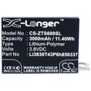 Gigapack 3000mAh Li-Polymer baterija za ZTE Blade A602 (Potreban je stručno znanje za ugradnju!)