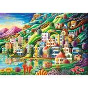 Puzzle Ravensburger - Orasul Visului, 1.000 piese (19402)
