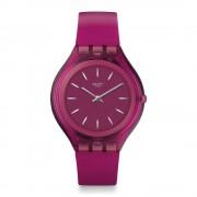 Swatch Orologio Svuv100 Skinromance scuro rosa in Silicone
