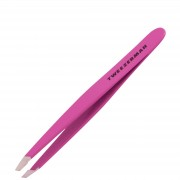 Tweezerman Brows Slant mini pinzette Neon rosa