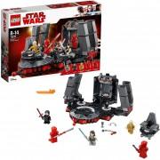 Lego star wars sala del trono di snoke