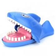 Estilo lindo Shark Music & Light Electronic Toy - azul (L) (2 x AA)