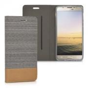 kwmobile Flipové pouzdro pro Samsung Galaxy J5 (2016) - šedá