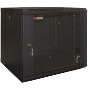 "WP Wall Mount Rack 19"" RWB Series 20U WxDxH: 600x600x1000 mm, Black RAL 9005 WPN-RWB-20606-B"