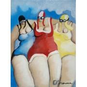 Les trois nageuses