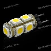 G4 1.8W 126LM 3500K caliente luz blanca 9 * 5050 SMD LED bombilla del coche (12V)