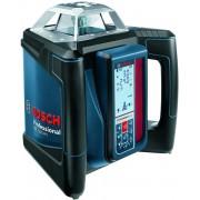 Nivelă laser rotativă Bosch Professional GRL 500 HV, 20 m, Diametru domeniu de lucru receptor 500 m, +/-0.05 mm/m, 06159940EF