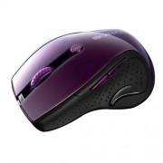 Canyon CNS-CMSW01P, Wireless optická myš USB, 6 tlač., 1000/1200/1600 dpi, LED senzor s modrým podsv., perleťovo fialová