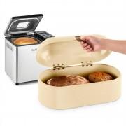 Klarstein Krümelmonster комплект за печене на хляб, 550 W, фурна за хляб, съд за хляб 14,5 литра (PL-30774-28688)