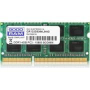 Memorie Laptop SODIMM Goodram DDR3 4GB 1333MHz CL9 1.5V
