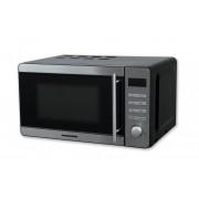 Cuptor cu microunde Heinner HMW-20DBKSS, 700 W, 20 l, Grill, Timer digital, Negru/Inox